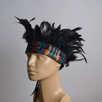 Native American Feather Headband - Feather Headdress - Burning man - Native American - Hippie - Festival Fashion