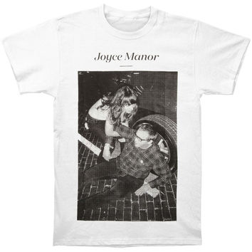 Joyce Manor Men's  Matt & Frank T-shirt White Rockabilia