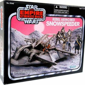 CREYN3C Star Wars Vintage Collection 3 3/4' Rebel Armored Snowspeeder Vehicle Exclusive