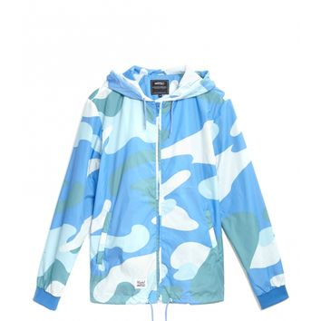 WeSC - Warhol Windbreaker Collaboration - Blue Camo
