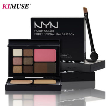 KIMUSE Professional Makeup Kit HOBBY COLOR PROFESSIONAL MAKE-UP BOX 30g