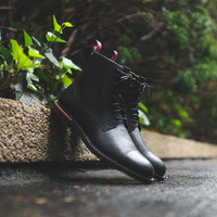 Timberland Earthkeepers Brook Park Zip Boot - Black Leather