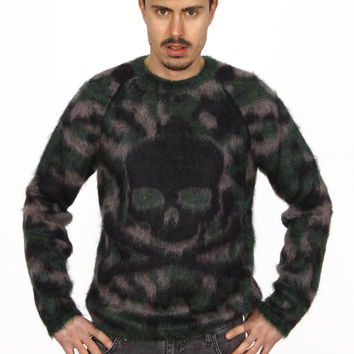 Philipp Plein mens sweater HM311957 GREEN
