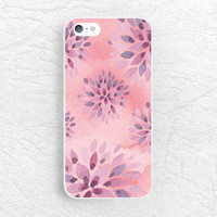 Watercolor Pink Floral pattern phone case for iPhone 6/6s plus, Lg G4, Moto x Moto G, HTC One M9, Samsung s6 edge, Note 5, Sony z1 z3 -P52