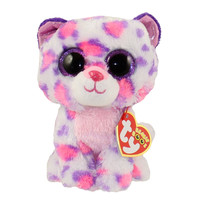 TY Beanie Boos - SERENA the Snow Leopard (Glitter Eyes) (Regular Size - 6 inch) *Limited Excl.*