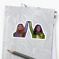 'Lizzie Mcguire and Isabella in Lizzie Mcguire Movie' Sticker by slagzy the snail