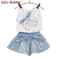 New brand summer baby girl clothing sets
