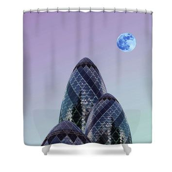 Urban Architecture - London, United Kingdom 8s - Shower Curtain