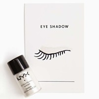 NYX Eye Shadow - White Pearl