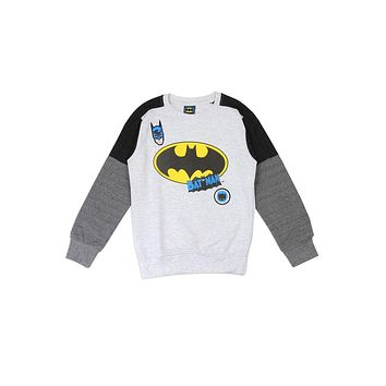 Boys Batman white torso sweater INO.CC34210