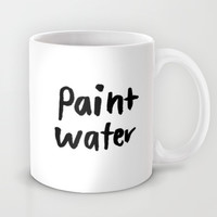 paint water Mug by Hallie Bateman