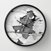 vintage - silver times Wall Clock by Steffi Louis Finds&art