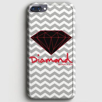 Red Diamond Supply Co Chevron iPhone 8 Plus Case | casescraft