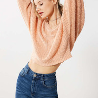 Kimchi Blue Theo Fuzzy Dolman Pullover Sweater - Urban Outfitters
