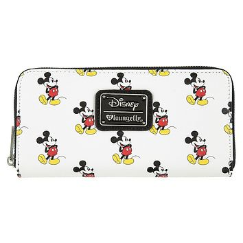 Disney Mickey Silhouette Wallet by Loungefly New with Tags