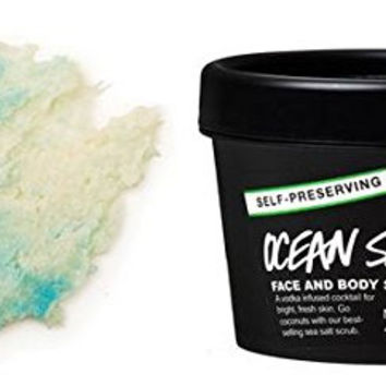 Ocean Salt Self-Preserving Face and Body Scrub 4.2 oz by LUSH