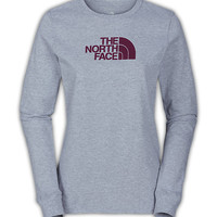 The North Face Women's Shirts & Tops T-Shirts WOMEN'S LONG-SLEEVE HALF DOME TEE