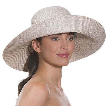 Eric Javits Women's Headwear Bella Sun Hat (Cream)