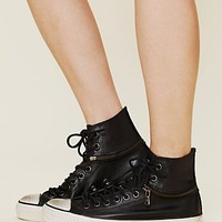 Free People All Star Zip Chucks