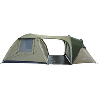 Camppal Outdoor Tents Camping Family Tent 5 Persons Waterproof Double Layer Two Room One Hall Hking Motocycle Tents