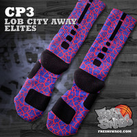 freshswagg — CP3 Lob City Custom Nike Elite Socks (Away)