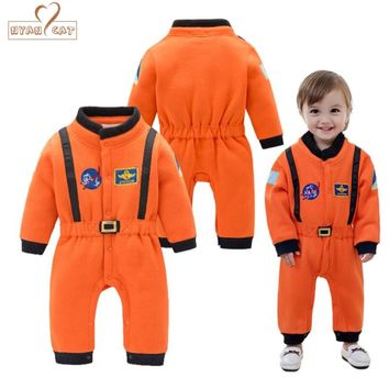 Nyan Cat Baby Boys  Astronaut Costumes Infant Halloween Costume for Toddler Boys Kids Space Suit Jumpsuit infantil fantasia