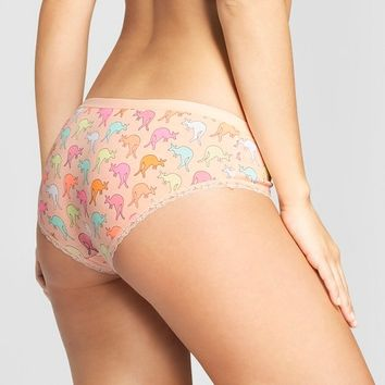 Women's Cotton with Lace Hipster - Xhilaration™