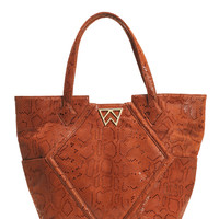 Paint The Town Tote in Rust Boa