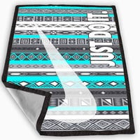 Nike JustDoIt Aztec Blanket for Kids Blanket, Fleece Blanket Cute and Awesome Blanket for your bedding, Blanket fleece *