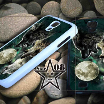 three wolf moon iPhone Case, iPhone 4/4S, 5/5S, 5c, Samsung S3, S4 Case, Hard Plastic and Rubber Case By Dsign Star 08