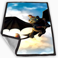 how to train your dragon Blanket for Kids Blanket, Fleece Blanket Cute and Awesome Blanket for your bedding, Blanket fleece *