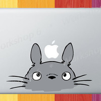 "Totoro Vinyl Decal Sticker for MacBook Pro 13"" 15"" 17"" Air 11"" 13"" - M86C"