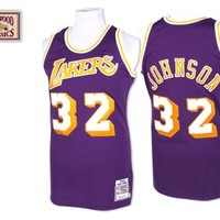 Los Angeles Lakers 1984 - 1985 Jersey - Magic Johnson - Mitchell & Ness Nostalgia Co.