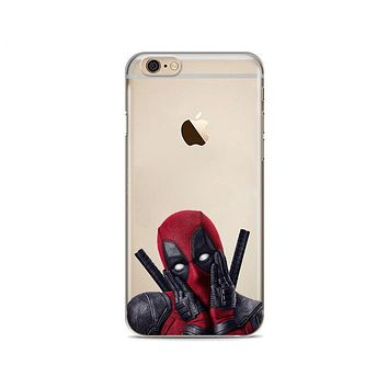 Deadpool Collection Silicon Cases for iPhone