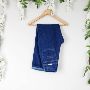 Vintage 24/25 1970s High Waisted Jeans