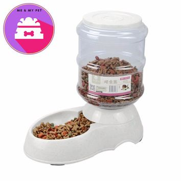 Pet Supplies Dogs Automatic Dispenser Water Feeder Food Feeder Feeding Bowls For Dogs And Cats 3.5L Large Capacity Supplies