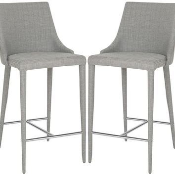Summerset Counter Stool Linen Grey (set of 2)