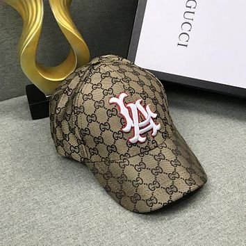 GUCCI Fashion Embroidered Baseball Cap Hat