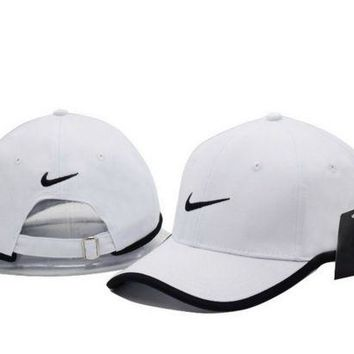 DCCKW2M Cool NIKE GOLF NEW Adjustable Fit DRI FIT SWOOSH FRONT BASEBALL CAP HAT