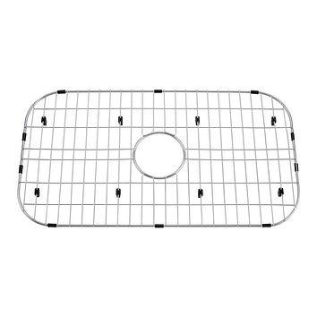 DAX-GRID-SQ3018 / DAX GRID FOR KITCHEN SINK, STAINLESS STEEL BODY, CHROME FINISH, COMPATIBLE WITH DAX-SQ-3018, 27-1/2 X 15-3/4 INCHES