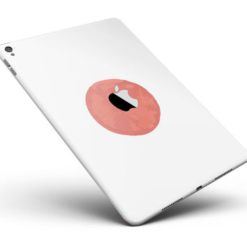 """The Red and White Polka Dot Pattern Full Body Skin for the iPad Pro (12.9"""" or 9.7"""" available)"""