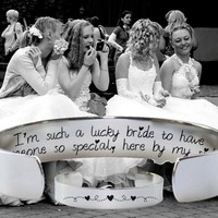 I'm Such a Lucky Bride Bracelet | Bridesmaid Gifts