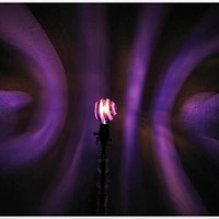 The ORIGINAL Hand-Painted Purple Spiral Mood-Light Bulb 4 Color Therapy, Night Lights, Parties, Mood Lighting