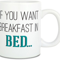 if you want breakfast in bed / sleep in the kitchen Mug