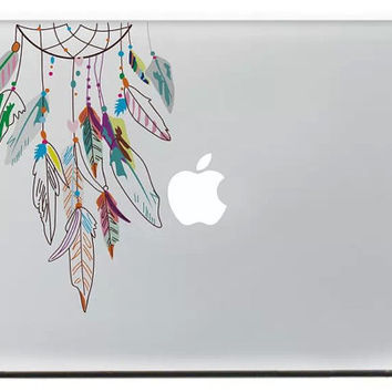 macbook decals stickers/macbook pro stickers/dream catcher/vinyl macbook air 13 cover/gift/laptop skin/macbook logo decals