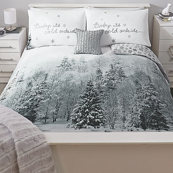 George Home Baby It's Cold Outside Duvet Range | Bedding | ASDA direct