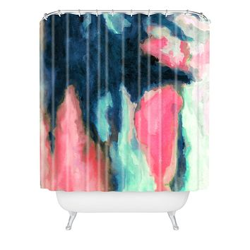 Jacqueline Maldonado Sun Shadow Shower Curtain