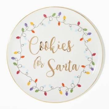 Cookies For Santa Plate | Charming Charlie