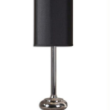 Buffet Table Lamp - Polished Chrome Plated Base