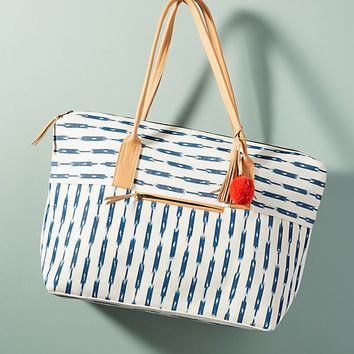 Billie Striped Weekender Bag